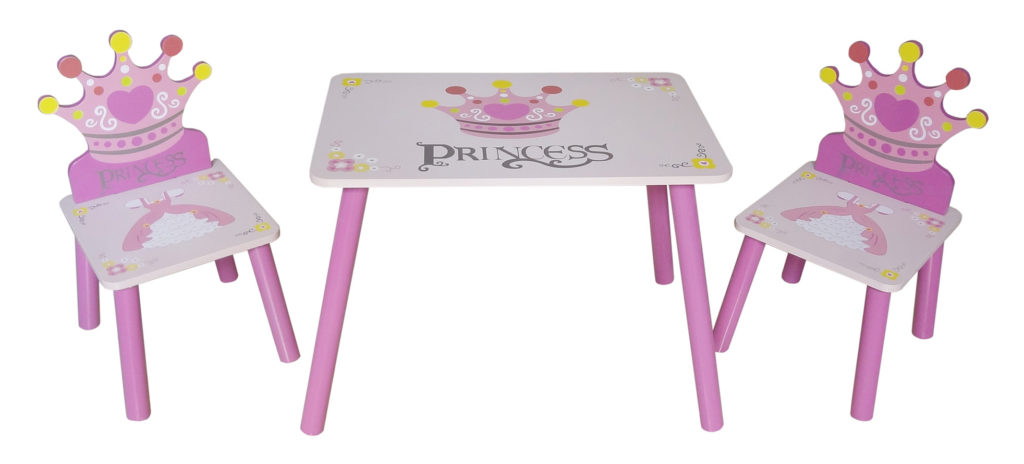 Kiddi Style Princess Themed Childrens Table Chairs